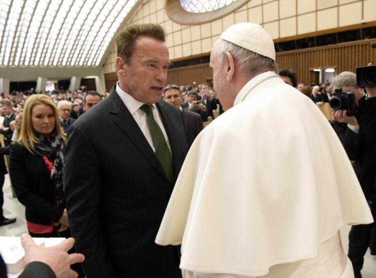 """I need your cap, your cape and your Popemobile."""