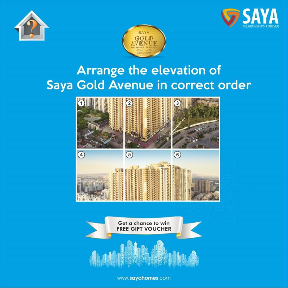Here we bring our trivia contest once again! Share your answers in the comments section below and Lucky participant will get a chance to win a gift voucher. 1. Like our Page. 2. Tag your 3 friends   Visit us at http://www.sayahomes.com #Quiz #SayaHomes #RealEstate