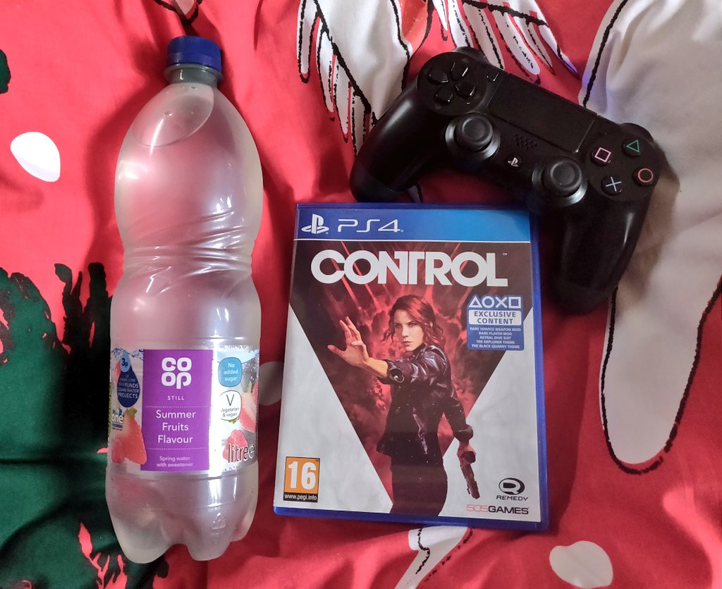 Game time... #ControlRemedy #PS4