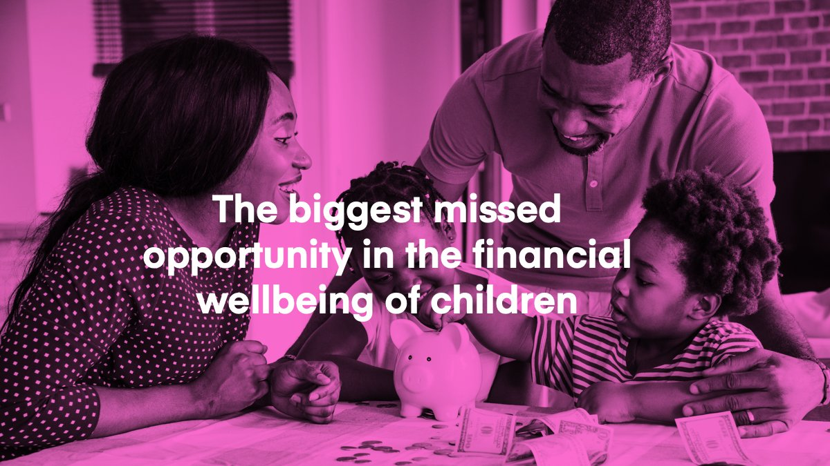 How can we help prepare children to have brighter financial futures? http://bit.ly/31Zq9oa  #financialwellbeing #education #personalfinance pic.twitter.com/a85aZ2XgmL