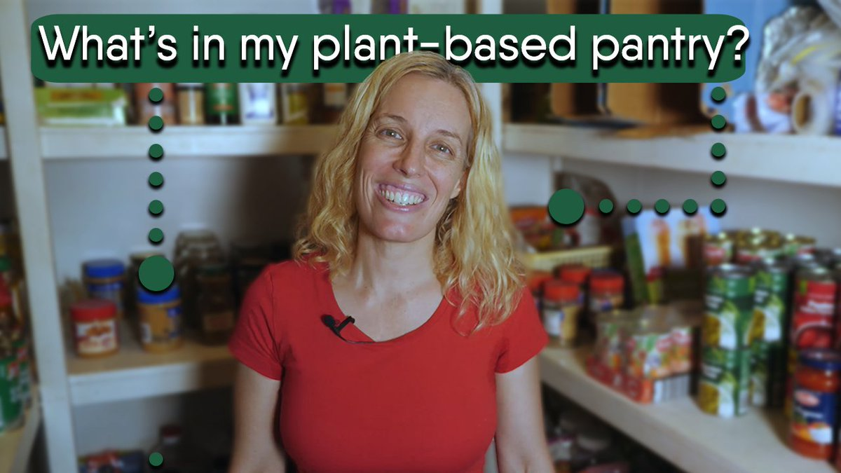 Whats in your plant-based pantry? #notonlycarrots  #plantbased  #vegan  #pantry   https://youtu.be/4Ko9cyqmX94