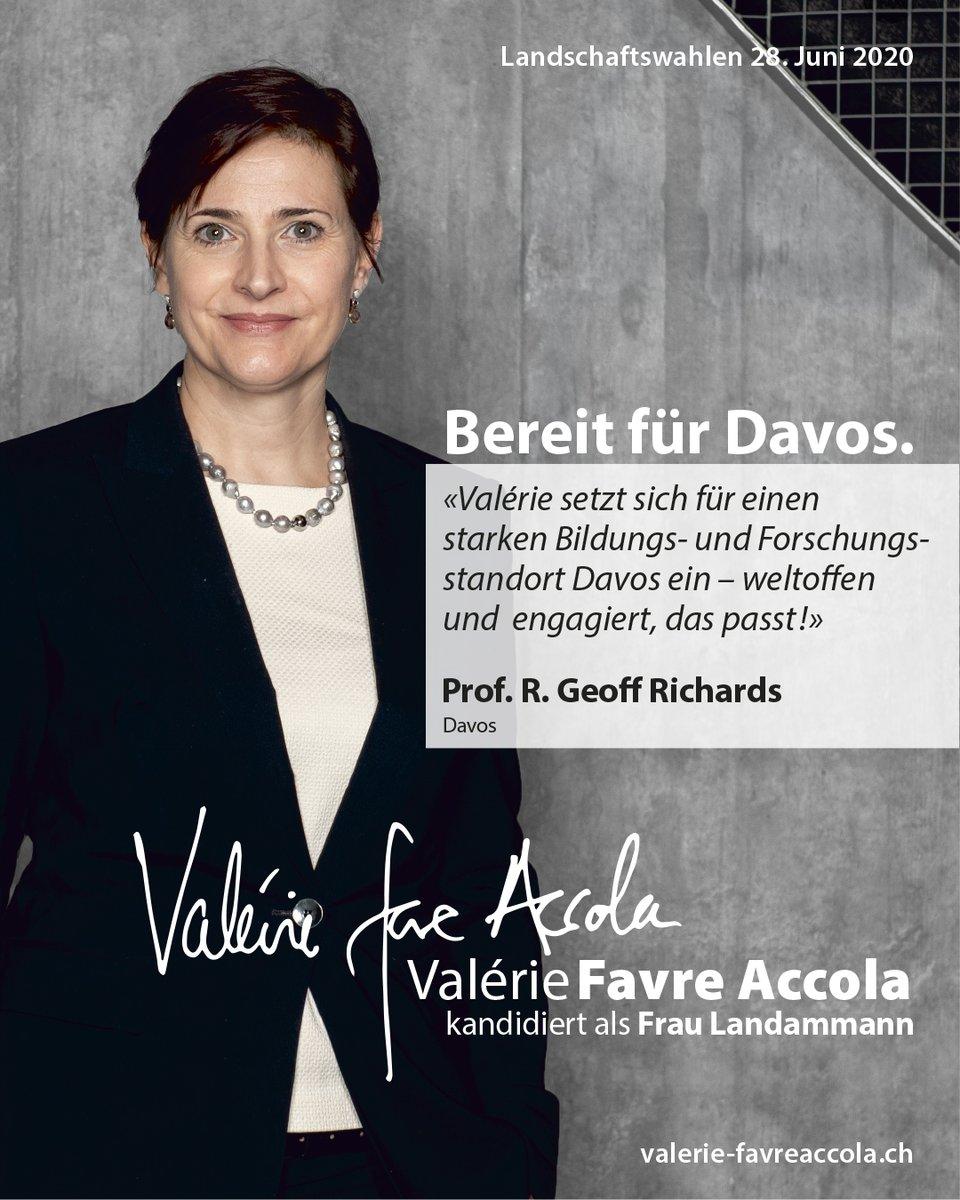 Ein starker Bildungs-, Forschungs- und Gesundheitsplatz #Davos liegt mir am Herzen - davon profitieren wir alle!  #ValerieFavreAccola kandidiert als Frau #Landammann in  http://www.valerie-favreaccola.chpic.twitter.com/B2ASeUpY6x