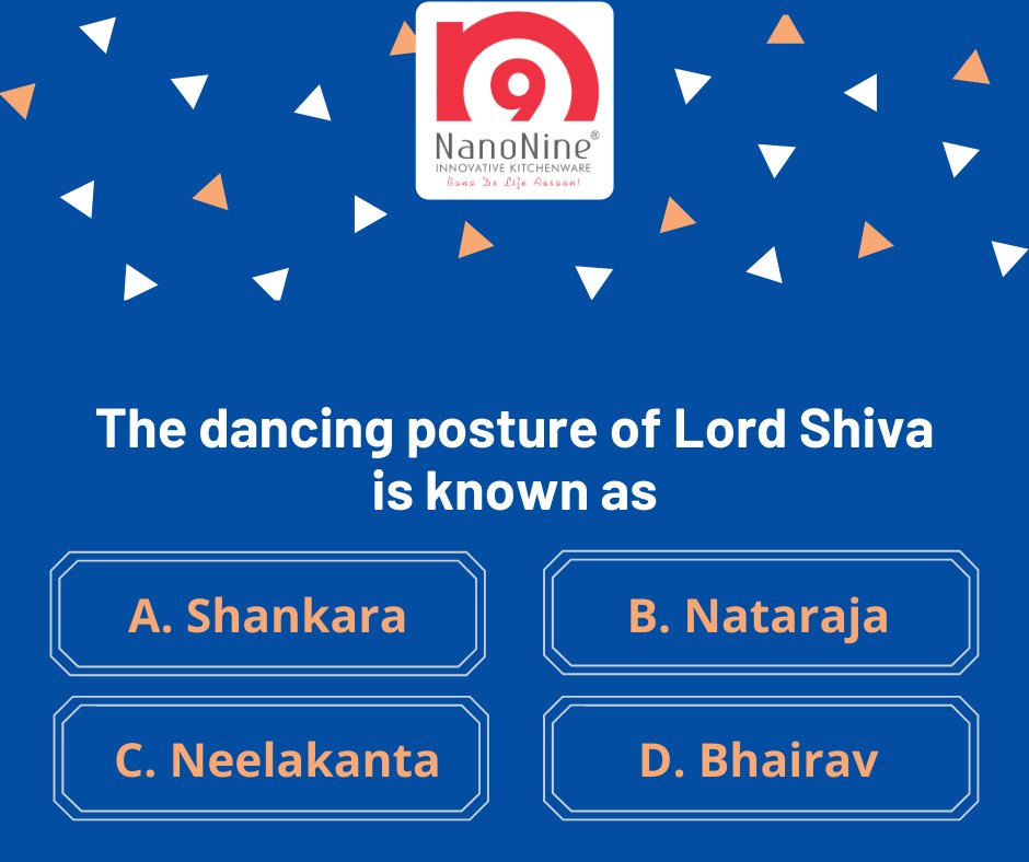 We are back with our New Nanonine Contest. Tell us the correct answer?  Stay tuned for the results! #ContestAlert #Join #Participate #Win #Tag #Share #Follow #Nanonine #Mahashivratri #Mahashivratricontest #Choosethecorrectanswer