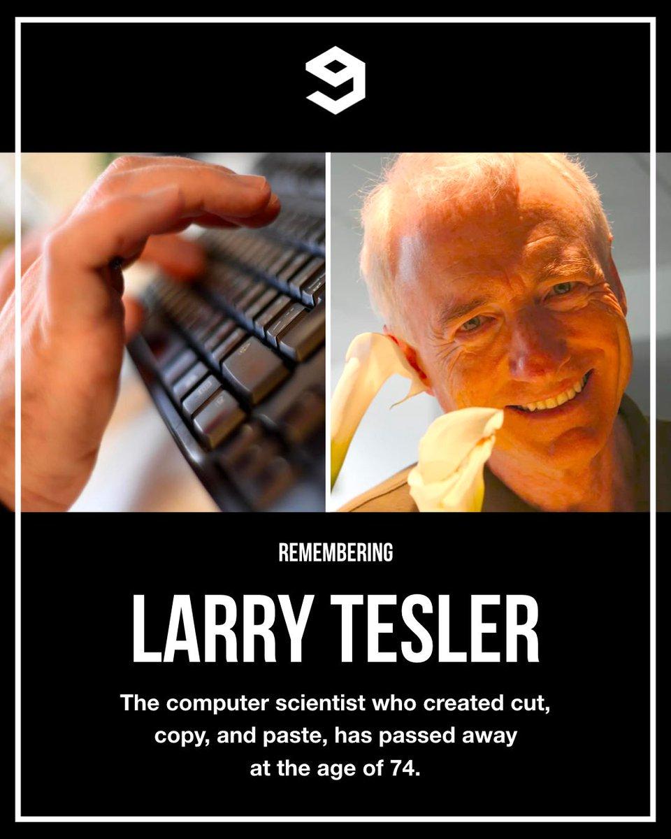 RIP. Thank you for making our lives easier. #LarryTesler