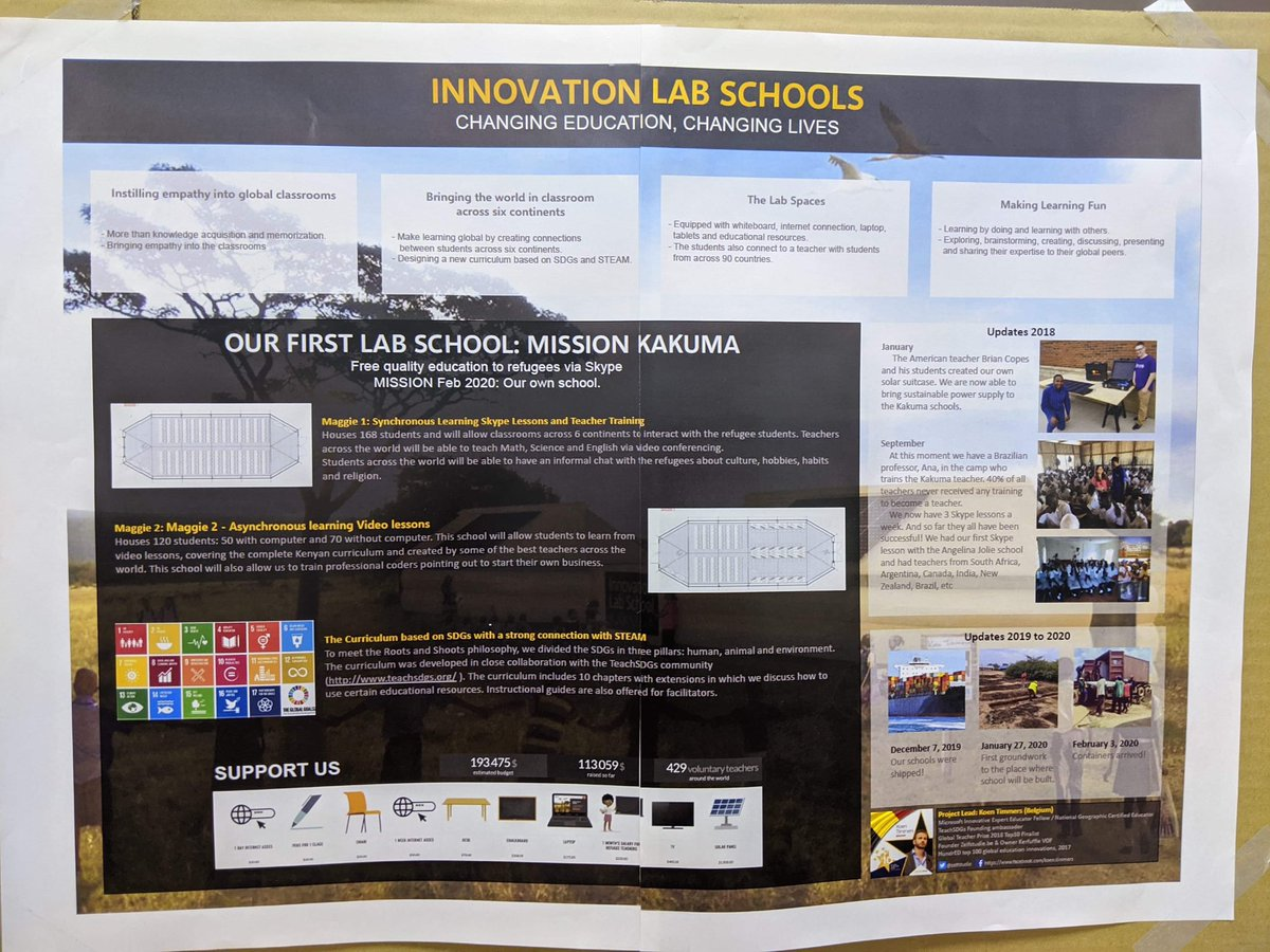Our Innovation Lab Schools were presented in Japan 🇯🇵 .