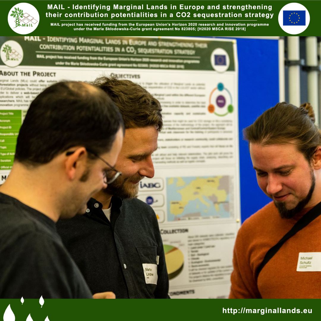 Few days ago (7 Feb 2020), our partners from @IABG_mbH   presented MAIL project at @UniJena  during the symposium 20 Years of Remote Sensing at Friedrich-Schiller-University Jena  #MAIL  #marginallands  #IABG  #Jena  #UniversityofJena  #RemoteSensing  #Europe  #CO2  #H2020