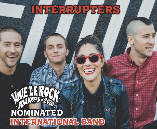 🤯 Wow!! We have been nominated for the @ViveLeRock1 International Band Award!! What an honour 🙏❤️🎉🎶 https://t.co/fFttSri7Ts
