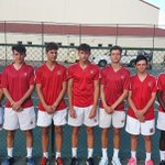 Image for the Tweet beginning: Wishing our 1st #RedTennis Team