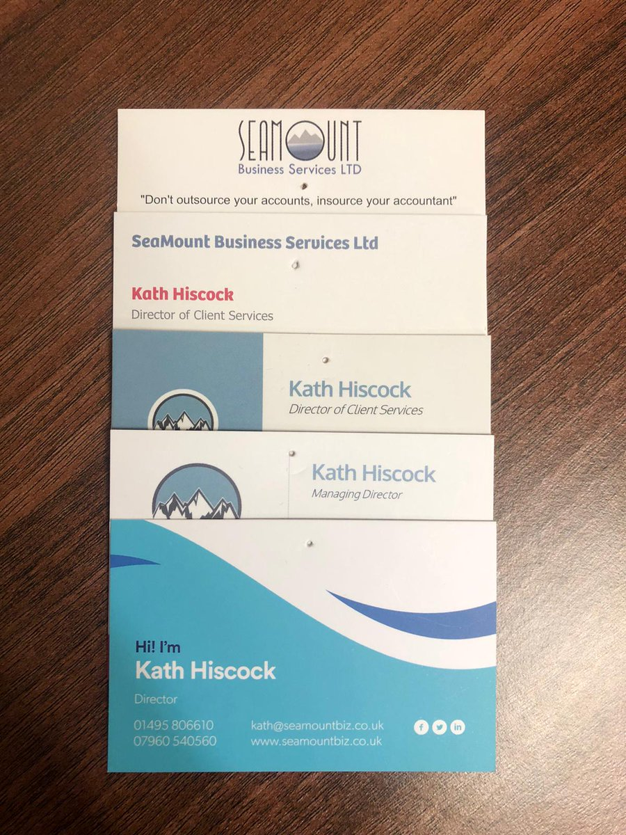 We've come a long way in the 8 years we've been trading.  The card at the top was the first business card we had.  Not only have we grown as a business we have grown as a brand. #TBT #ThrowBackThursday #seamountbiz