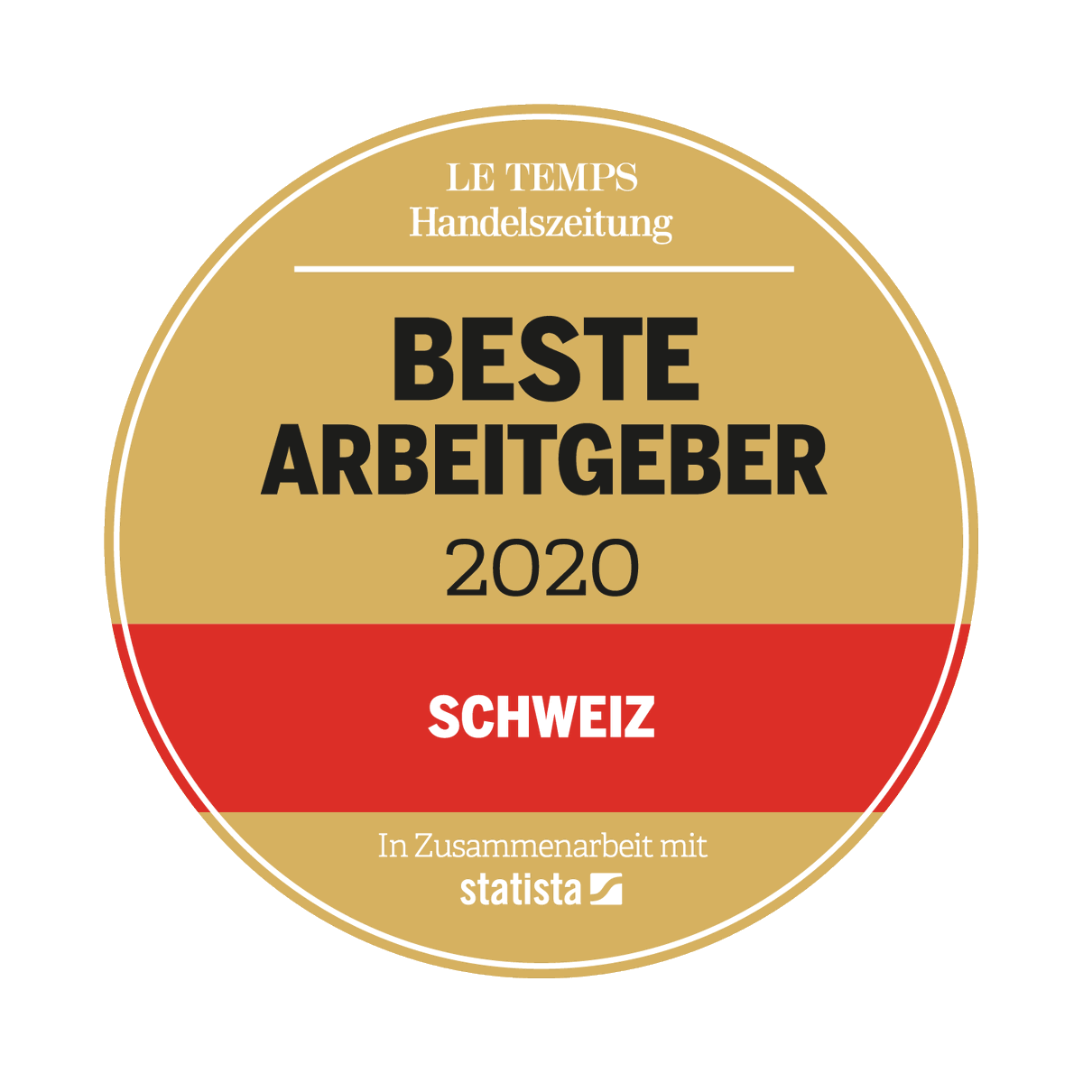 #bbv ist top! Wir haben erneut ein Spitzenergebnis im #Ranking der #Top #Arbeitgeber der #Schweiz 2020 der @Handelszeitung und @letemps  und den hervorragenden 8. Platz in «Internet, Telekommunikation und IT» erreicht.pic.twitter.com/IpnAXSWpPh