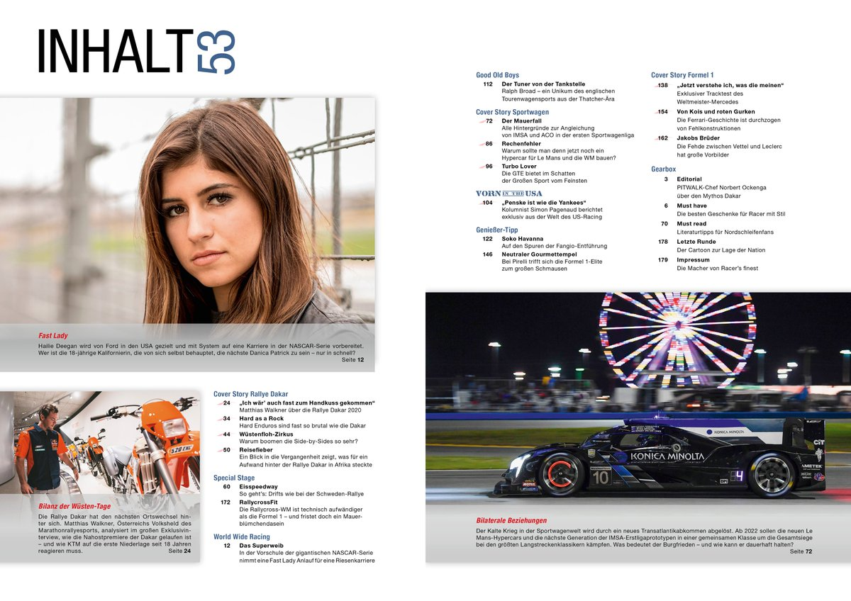 Neuer #Blog : mehr zu den Inhalten der #Zeitschrift  #PITWALK , die gerade in Druck ist und nächste Woche rauskommt. Mit 1. Kolumne von @simonpagenaud , großem Interview mit @MatthiasWalkner  u.v.m.   https://www.pitwalk.de/pitblog/das-steckt-alles-drin  …  #F1  #Formel1  #LeMans24  #IMSA  #Dakar2020  #Offroad  #KTM  #Auto