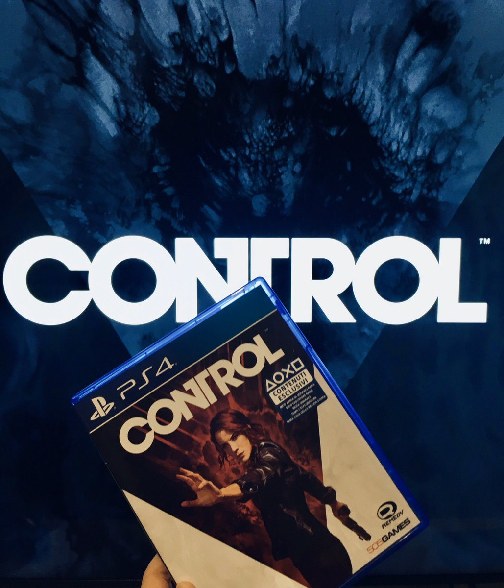 I've already played this game but I decided to buy my own copy because I love it too much! Can't wait for the DLCs 😍  #ControlRemedy #Control #505games #videogames