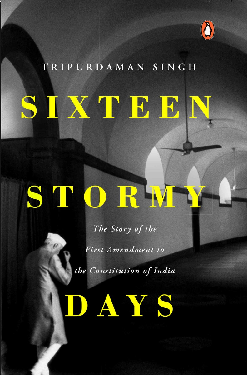 Fundamental rights & individual liberties are RELICS of the past. Courts are UNDERCUTTING intent of the Constitution by giving primacy to fundamental rights. - Nehru.Riveting review by @TheJaggi, of what promises to be a riveting book by @tripurdaman. https://swarajyamag.com/books/how-nehru-and-patel-emasculated-our-constitution-in-less-than-16-months…