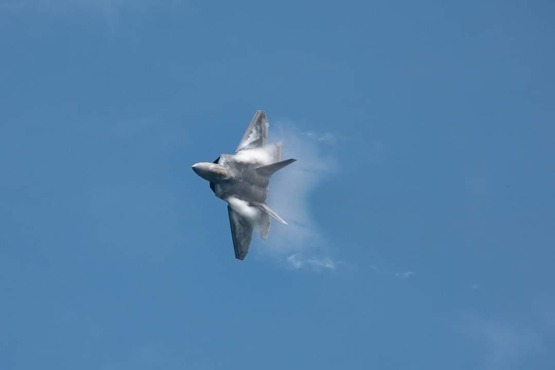 Vapour! #F22Raptor #aviation #Airshow #Airforce #SGAirshow2020