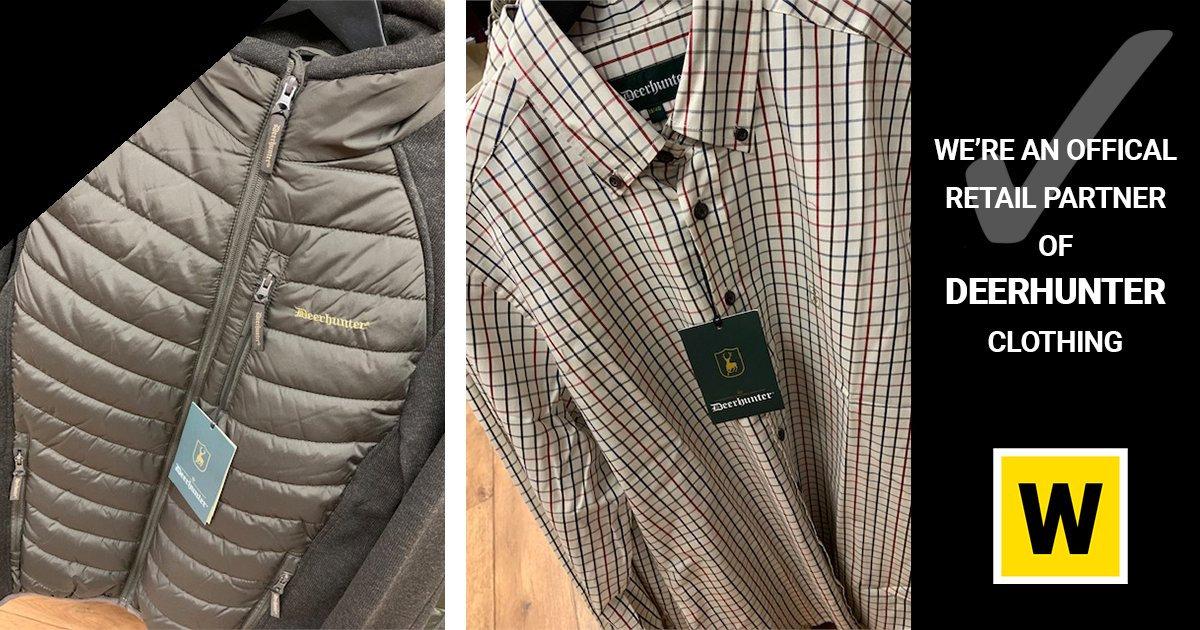 We're proud stockists of the quality clothing range, #Deerhunter, designed specifically for #hunting and outdoor pursuits. We especially love the range for its comfort and functional design which comes at a sensible price - great value for money assured!  Read More