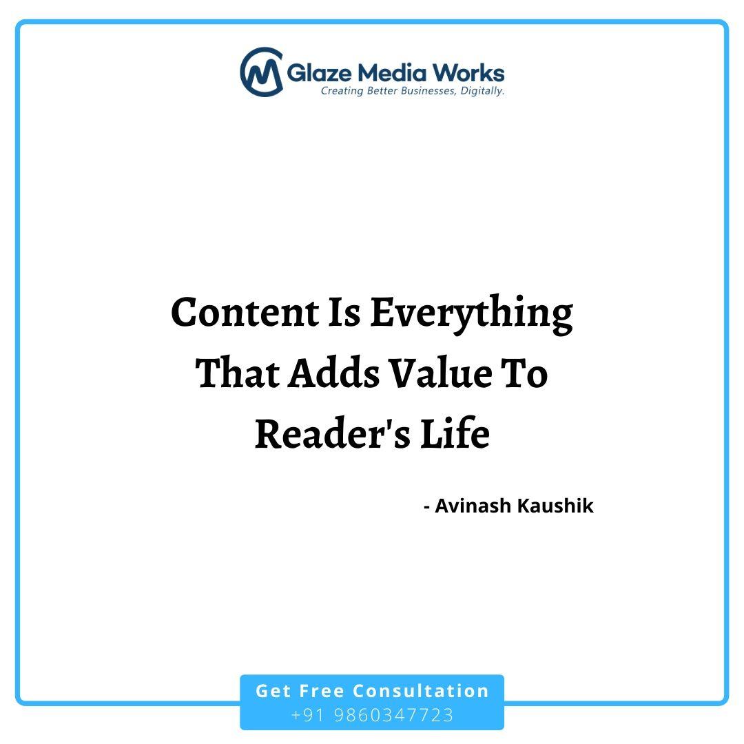 Great #content wins, No matter what.... Contact for FREE consultation, CALL: +91 9860347723 #marketing #business #digitalmarketing #business #branding #seo #socialmedia #onlinemarketing pic.twitter.com/V89HYSfNKa