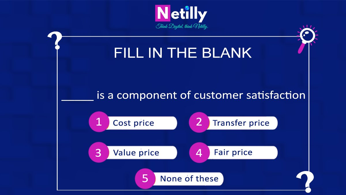 Do you remember those school days, we use to rely on MCQ/fill in the blanks for an easy hold on marks.  Can you fill in the following blank?  Let us know your answers in the comments below?  #FillInTheBlanks #FillInTheBlank #FillInTheGaps #Fillers #Fill  #Quiz #Contestalert