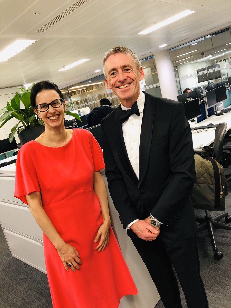 @RSSB_rail 's @markphillips_1 and @LDCmoisio looking fab heading to the @QAPrizes ceremony at #guildhall where @SimonIwnicki and colleagues from @WeLoveResearch, lead of the @UKRRIN Rolling Stock centre, received an award last night. Well done team!pic.twitter.com/YOrDzRURdw