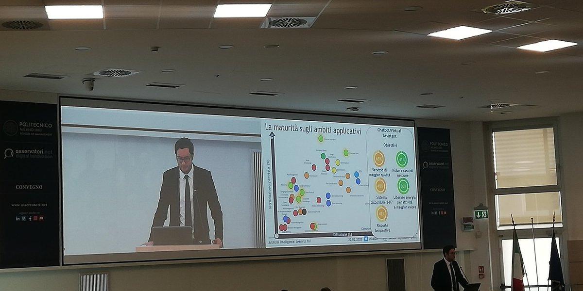 #AI e maturità sugli ambiti applicativi: il miglior servizio di qualità è dato dai #virtualassistent, in ogni settore. Questo è tanti altri risultati al #OAI20. Noi ci siamo  # QuestIT #polimi #osservatoriodigitale #digital360 #ArtificialIntelligencepic.twitter.com/OA4pInioxA