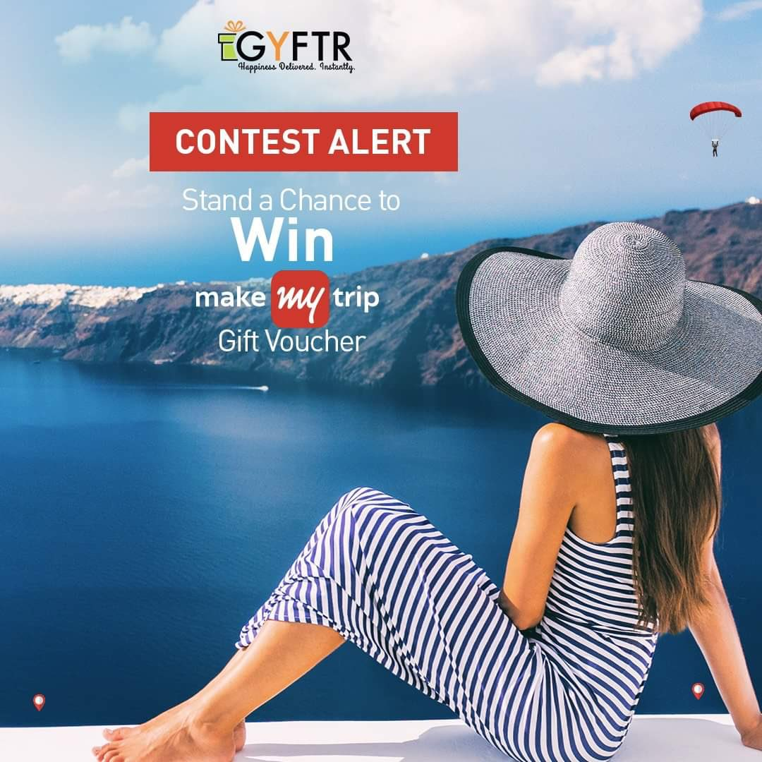 """Contest Alert! Comment below """"MakeMyTrip"""" one letter at a time without being interrupted and Stand a chance to win MMT Voucher worth INR 5,000 😍😉😅  Don't forget to: 1. Like and share this post on your timeline. 2. Follow us on Instagram, Facebook and Twitter. 3. Tag 3 friends."""