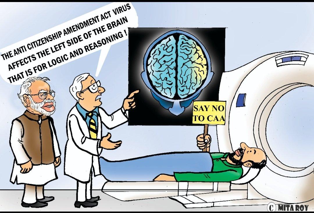 Enjoy my cartoon column #MitaRoyUnplugged in #IndiaAmericaToday, February 2020 issue. #EditorialCartoons  #PMOIndia #NarendraModi #BJP4India #BJPDelhi @iatoday @narendramodi @AmitShah @sudhirchaudhary #CAA #IndiaSupportsCAA #ISupportCaapic.twitter.com/I2KiQr5Vzx