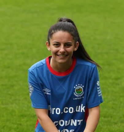Hearts sign Northern Ireland international Louise McDaniel  Read the full story 👉   #NewsChain #Hearts #NorthernIreland #LouiseMcDaniel #football #SWPL
