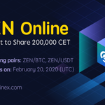 Image for the Tweet beginning: New listing: $ZEN  For the