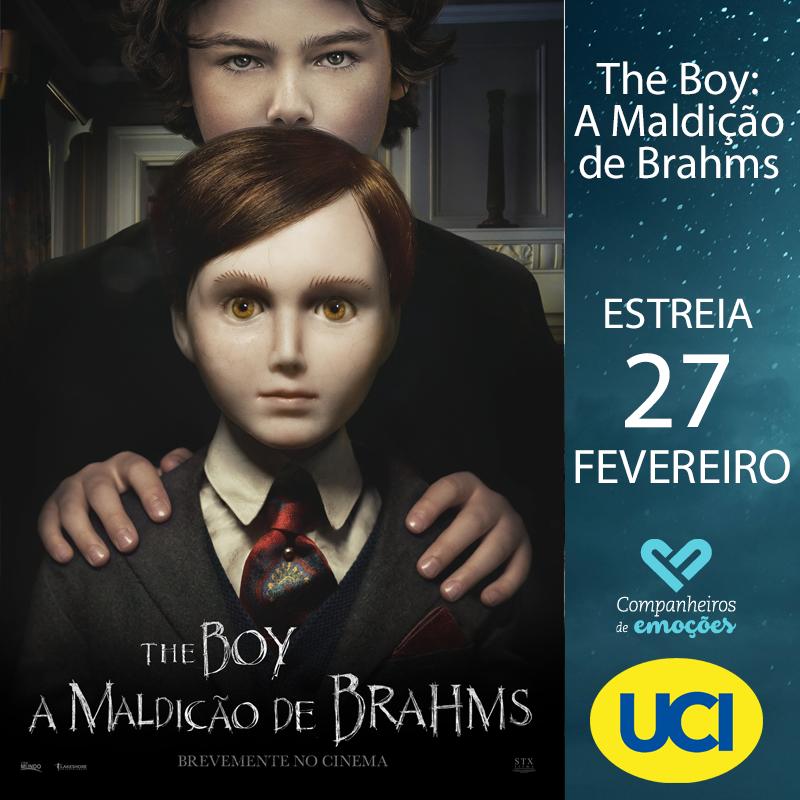 """The Boy: A Maldição de Brahmas - Dos produtores de """"O Exorcismo de Emily Rose"""". Em exibição nos cinemas UCI a 27 de Fevereiro. +info: http://ucicinemas.pt/Filmes/the-boy-a-maldicao-de-brahmas… #Estreia #Cinema #Filmes #UCICinemas #TheBoy #AMaldiçãoDeBrahmspic.twitter.com/DsRTiVGlSx"""