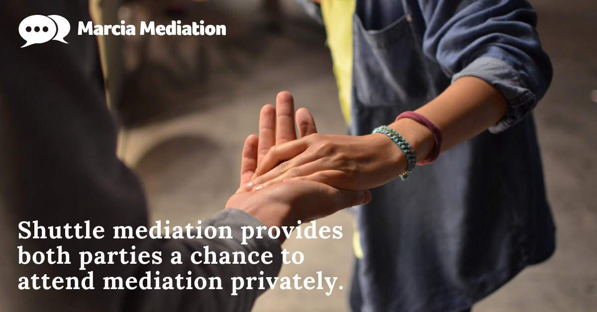 The thought of #mediation may sound overbearing if you and your previous partner can no longer share a room. #ShuttleMediation can help provide the perfect outcome for your circumstances, providing both parties the chance to attend mediation privately. https://t.co/YuSFJJOAm4 https://t.co/gUQ4lo5cFd