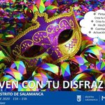 Image for the Tweet beginning: Máscaras y disfraces de carnaval