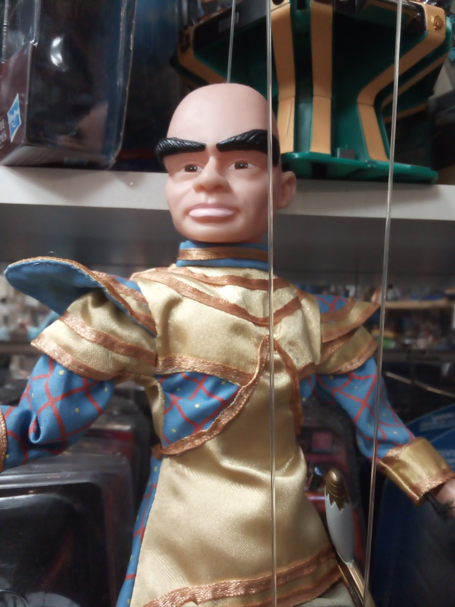 Item of the day. #Thunderbirds #TheHood puppet #FAB in stock @BlueCrystalCol1 #B633BA