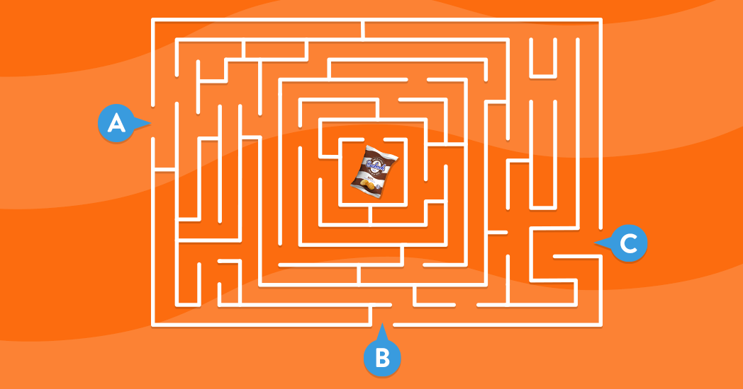 Which route will lead you to Beefy?