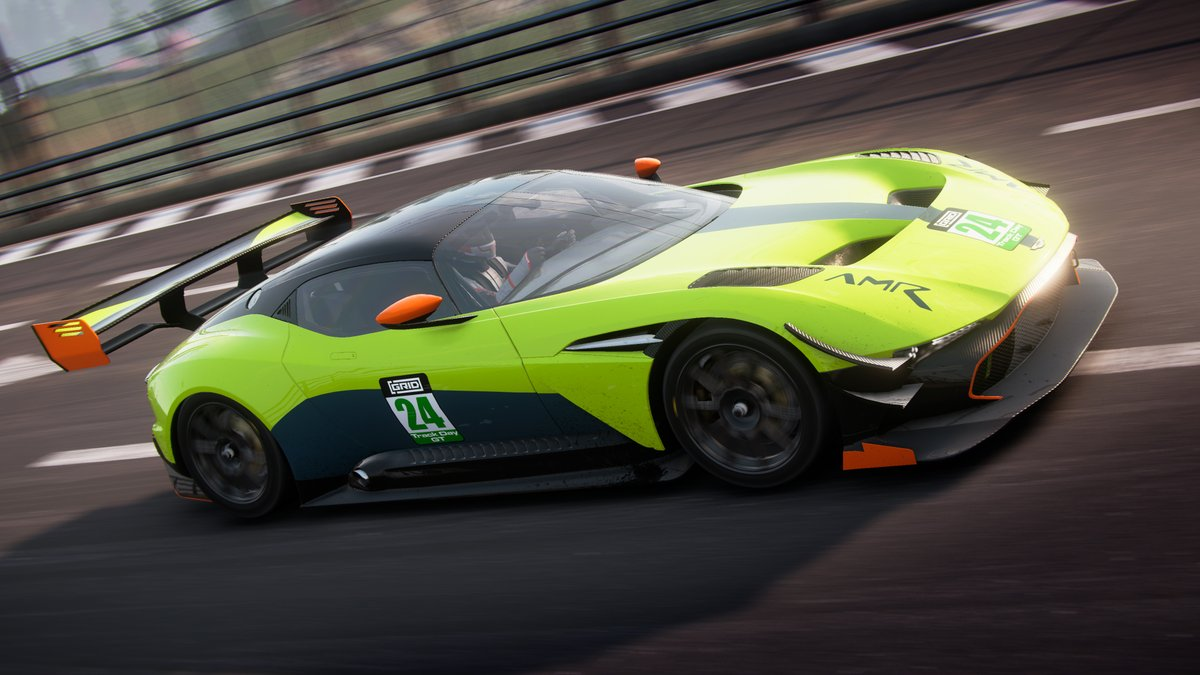Grid On Twitter So Who S Tried To Tame The Aston Martin Vulcan Amr In Grid Show Us Your Screenshots Videos Liveries