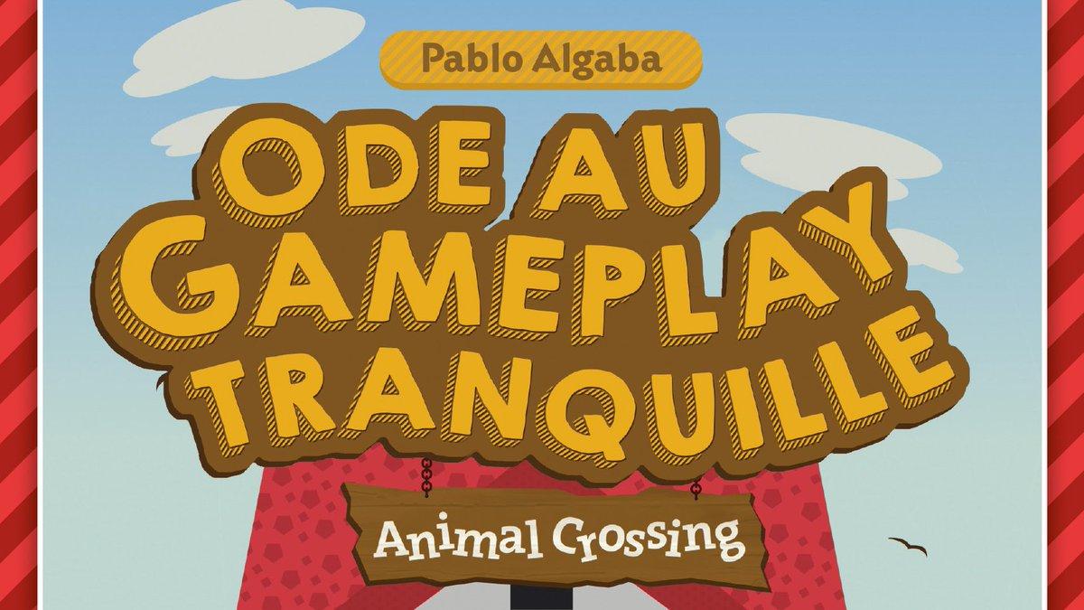 Un Nintendo Direct pour #AnimalCrossing !#Nintendo fait une belle surprise à ses fans en lui consacrant un Nintendo Direct aujourd'hui à 15h ! On en profite pour vous annoncer la sortie de notre prochain livre : Ode au gameplay tranquille : Animal Crossing ! Le 11/03/2020 ! pic.twitter.com/cNgyI0hAIP