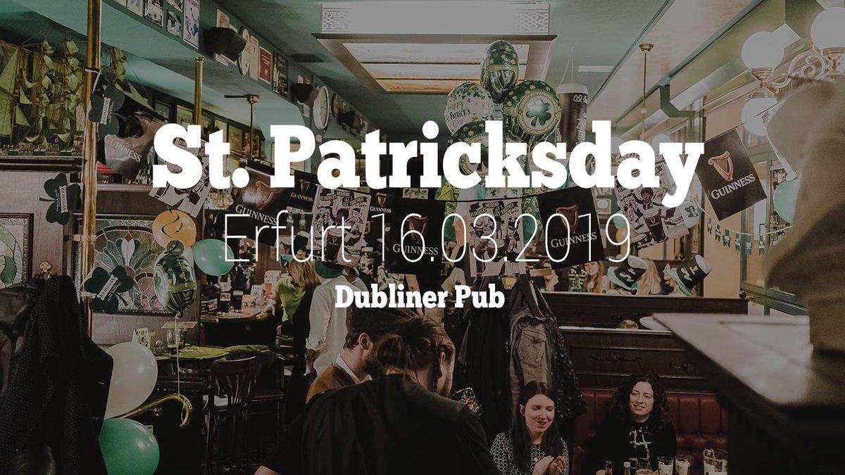 St Patricksday 2019 im Dubliner Pub in Erfurt https://cmun.it/btnuw1c via @YouTube (Anzeige) #thüringen #thueringen #stpatricksday #irish #livemusik pic.twitter.com/Y0kvmQcAvh