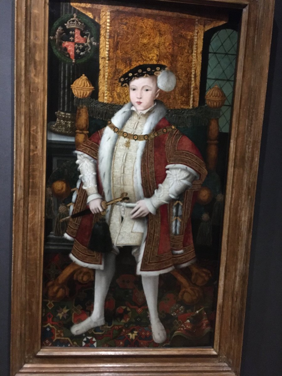 20th February 1547 was crowned at #WestminsterAbbey. He was the last child monarch to ascend to the English throne. At the time Scotland also had its own child monarch, Mary. #Tudors #coronationday  (portrait @NPGLondon )pic.twitter.com/JOjc8bFRyT
