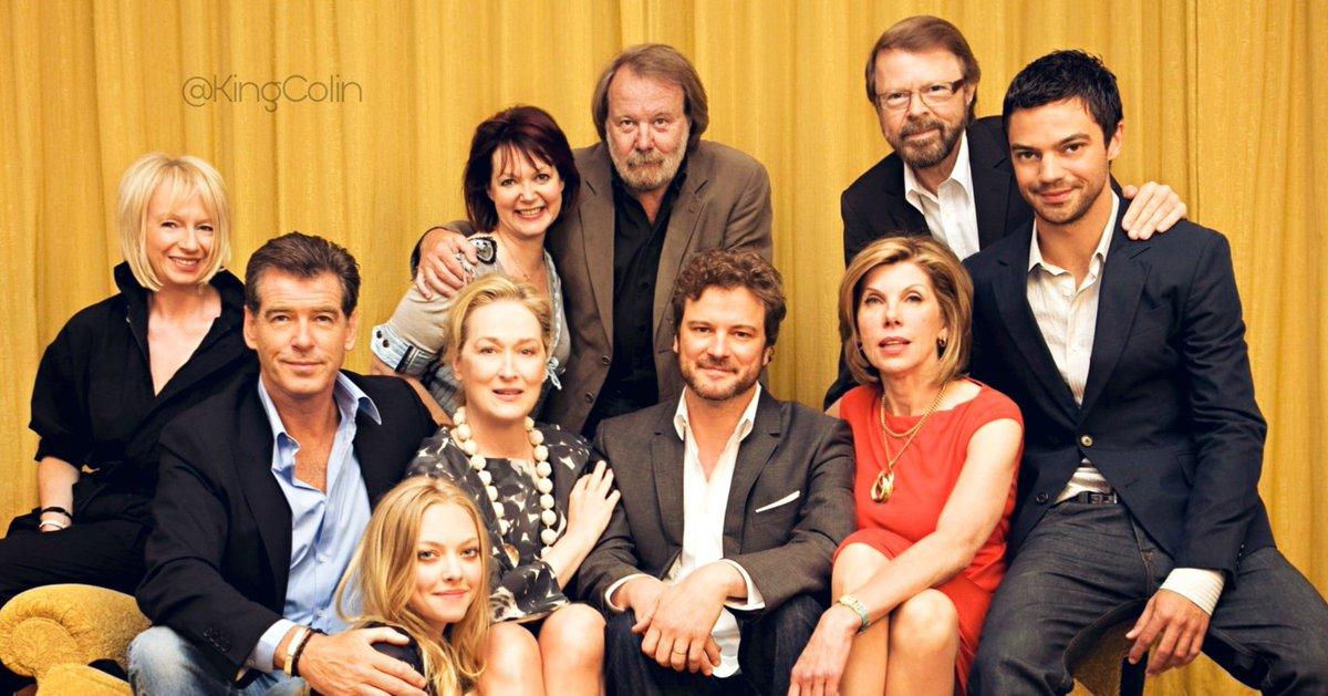 Super cast but missing Stellan Skarsgård and Julie Walters #colinfirth #merlystreep #mammamia #abba #piercebrosnan #stellanskarsgard #ChristineBaranski #juliewalterspic.twitter.com/naFbwtDsqm