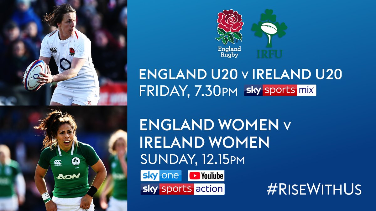 test Twitter Media - We've got your weekend of rugby sorted on @SkySports 🏉  🏴󠁧󠁢󠁥󠁮󠁧󠁿 @Englandrugby V @IrishRugby 🇮🇪 https://t.co/LCbFcuahHO
