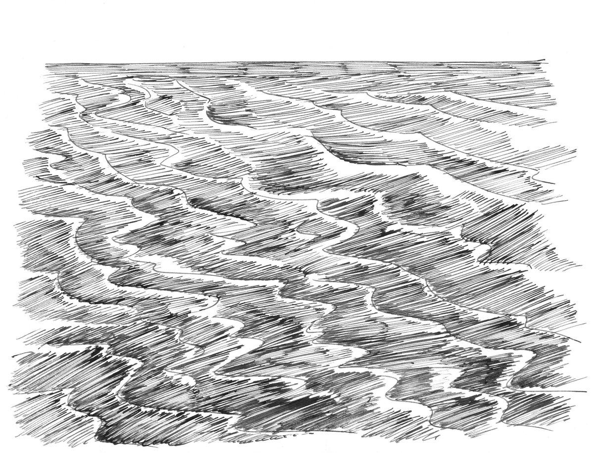 Wave sketching.