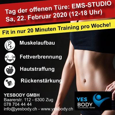 NEUERöFFNUNG EMS-Studio: Komm vorbei, wir freuen uns: diesen Samstag, 22. Februar 2020 von 12 - 18 Uhr... Lust auf einen flachen Bauch, Sixpack, Hautstraffung oder Rückenstärkung? Dann seid ihr genau richtig bei uns! . . . . #emsstudio #ems #studio #fitness #fit #neueroeffnung #pic.twitter.com/ItEeq49Oy6