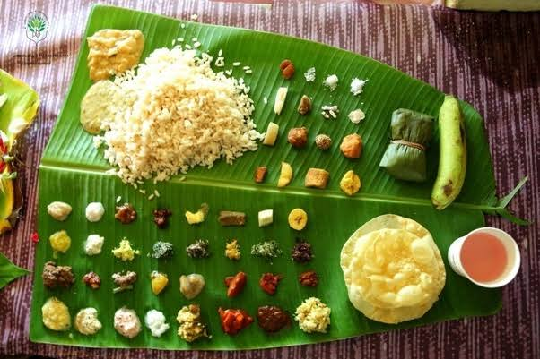 Aranmula Vallasadya Items .... Rice with 48 variety of side dishes are served in Vallasadya