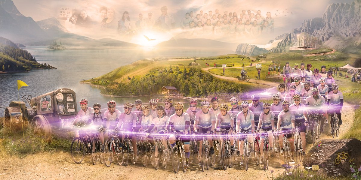 Meet Team Cross Cancer Institute!   They are about to cycle in the 12th annual Enbridge® Ride to Conquer Cancer®. They have raised over $851,046 and nothing is about to slow them down!    To support the amazing work that they're doing, head over to https://t.co/yV2p4EJRGC ! https://t.co/kNIcXJfnFD