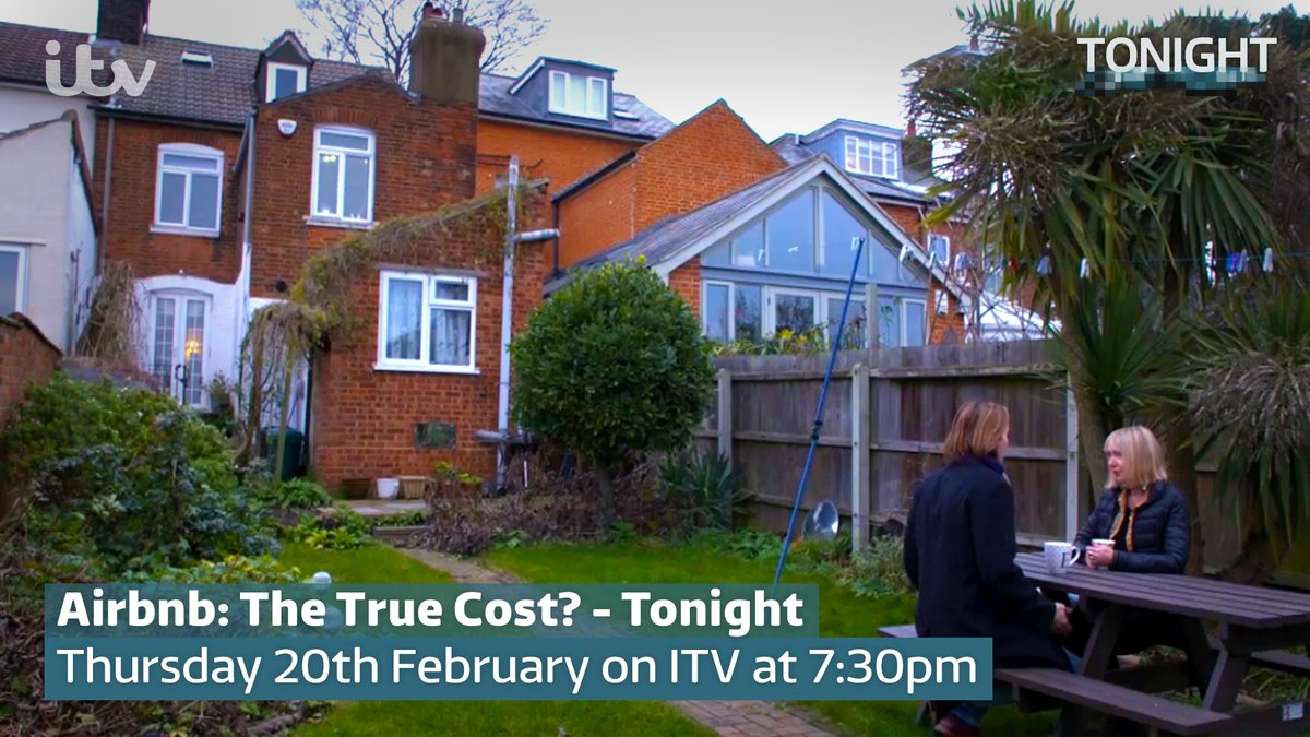 Millions of hosts of all ages are gaining more than just money from renting out their homes, like Elene. She says hosting guests stopped her feeling lonely, after her husband passed away.  #ITVTonight's 'Airbnb: The True Cost' is on @ITV in 30 minutes!