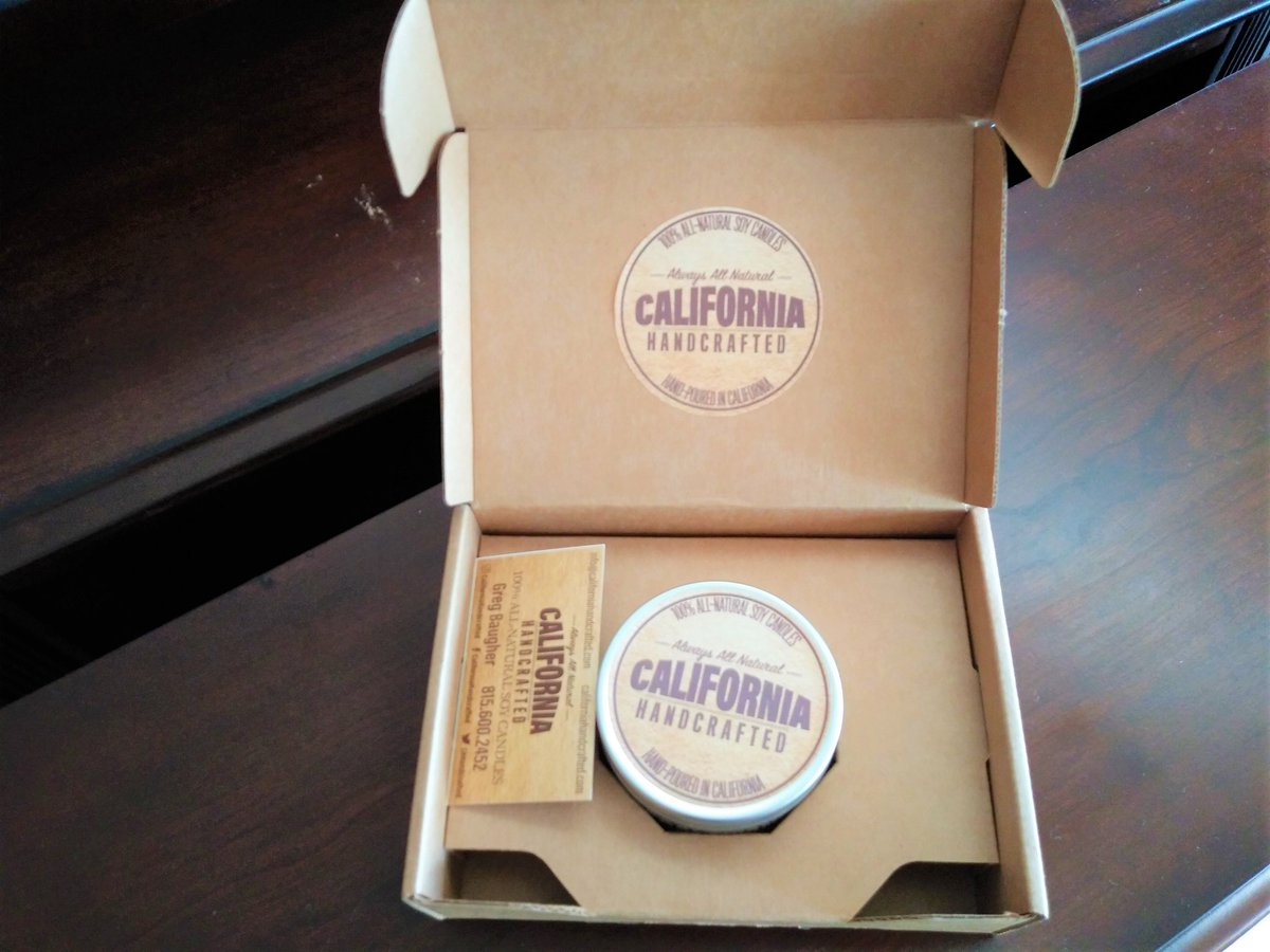 I am so excited! Just received my #GalentinesDay gift giveaway from @GalsWander @CAHandcrafted!! Thank you! I love it! The scent is amazing!  I will be ordering more! #Soy #candles  http://CaliforniaHandcrafted.com #ThankfulThursday #wellness #fitlife #healthyliving #nature