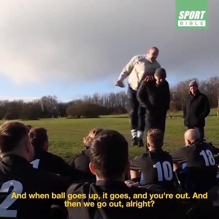 Half time team talks don't get much better than this... 😡😂 📹 @SteveBracknall