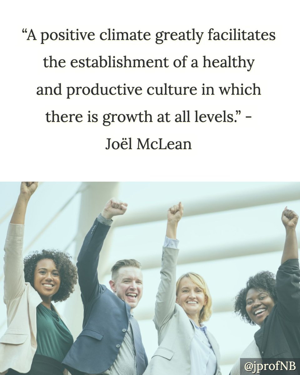 "Blog from the archives: ""A Positive Climate For A Culture Of Growth"" #leadership #InspireLeadership #leadupchat #edchat #EduGladiators #leadLAP #learnLAP #onedchat #ontedleaders #leadered #principalsinaction #tlap #ThursdayThoughts"