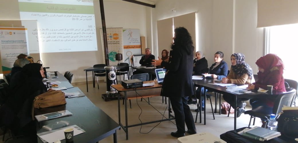 UNFPA continues to achieve great things thanks to our partners! In coordination with the Ministry of Social Affairs, @LSOG1958 is providing training on #reproductivehealth service delivery guidelines to paramedics, social workers, nurses & midwives in Baalbek.pic.twitter.com/EANk31WkEC