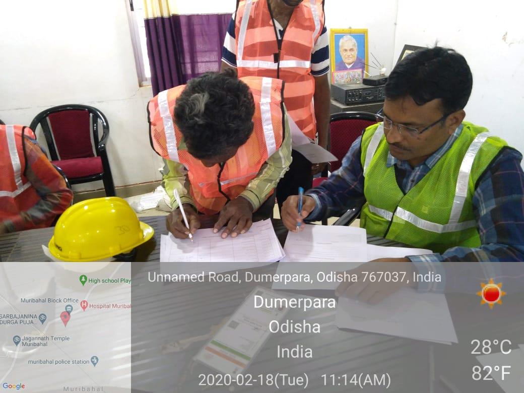 Assessment completed @ Gram Tarang Employability Training Services Pvt. Ltd., Bolangir, Odisha on 18.02.2020 & 19.02.2020 for Scheme – NON-PMKVY – PMAY-G (RPL). pic.twitter.com/UcFJ2X8Kch