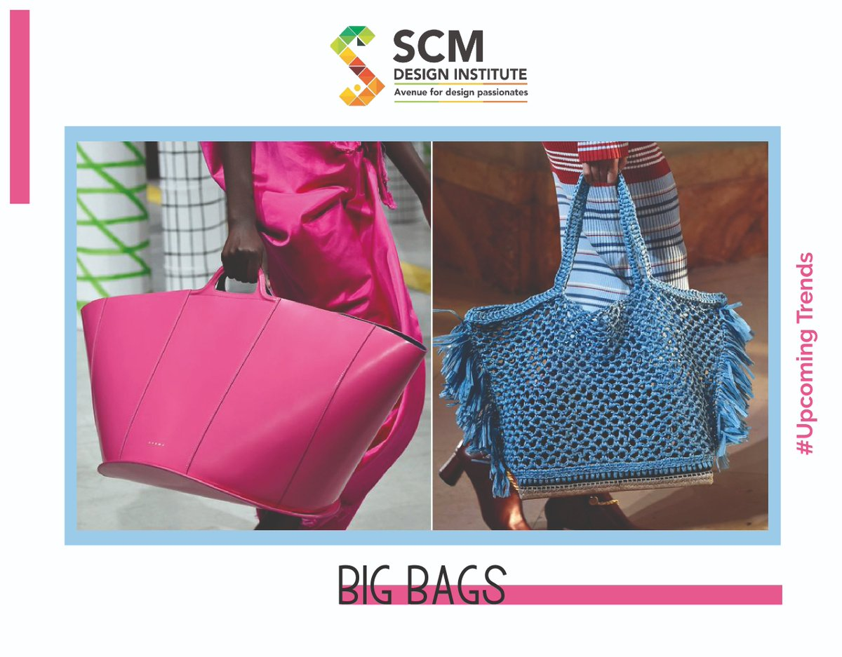 Upcoming Fashion Trends for 2020 #bigbags  Visit Us at: http://www.scmdesigninstitute.com/  . . . #fashionista #fashionlove #trendsfor2020 #fashiontrends #upcomingtrends #fashiontrends2020 #design #scmdesigninstitute #designinstitute #navimumbai #kharghar #panvel #instastyle #lifestylepic.twitter.com/wI7jgMt9qW