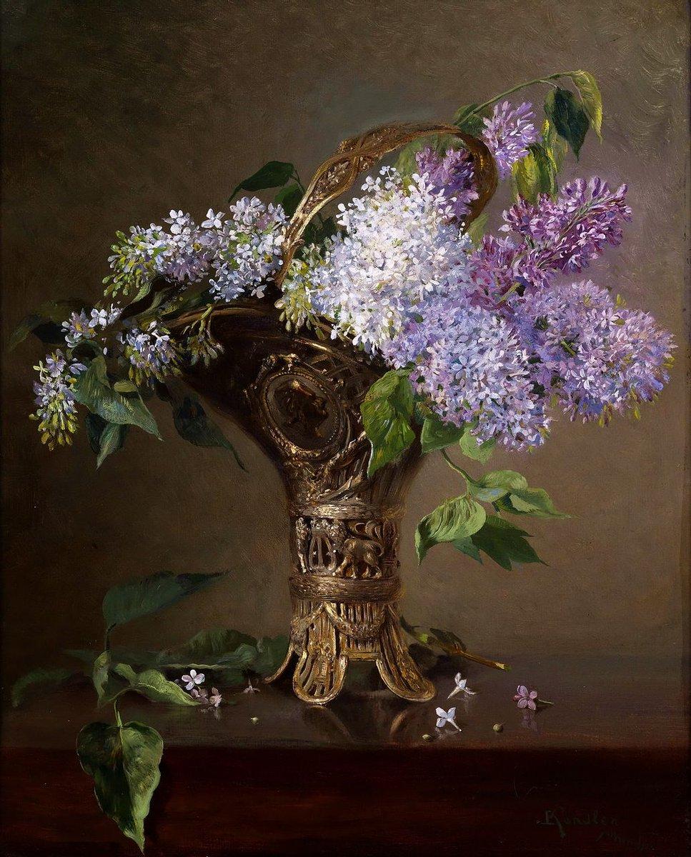 Ludwig Kandler (nacido el 14 de noviembre de 1856 en Deggendorf , † 12 de febrero de 1927 en Munich ) fue un pintor alemán de retratos , historia y género pic.twitter.com/CKKGuN9CMA